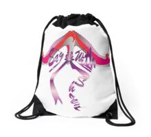 Say it with Shoes 2 Drawstring Bag
