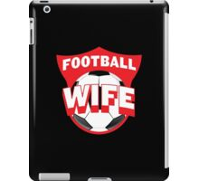 Football wife iPad Case/Skin