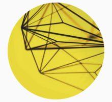 Minimalist Yellow Geometry - Photograph Baby Tee