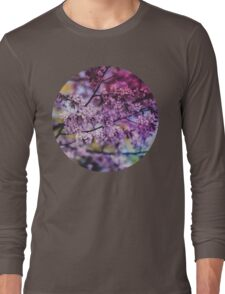 Purple Spring Blossoms - Photograph Long Sleeve T-Shirt