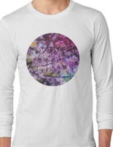 Purple Spring Blossoms - Photograph Long Sleeve T-Shirt