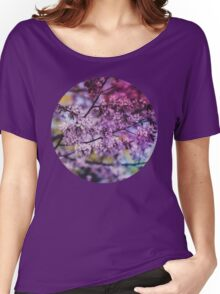 Purple Spring Blossoms - Photograph Women's Relaxed Fit T-Shirt