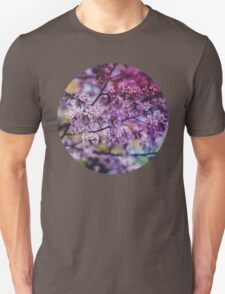Purple Spring Blossoms - Photograph Unisex T-Shirt