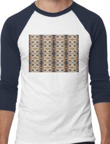 Limpet motif Men's Baseball ¾ T-Shirt