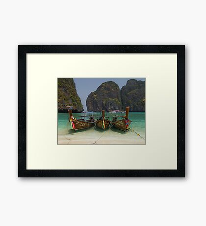 Maya Bay Framed Print