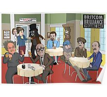 'BritCom Brilliance' Poster