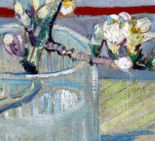 Vincent van Gogh Spring Flowering Almond in a Glass Sticker