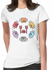 Monster Hunter Meat Selection Womens Fitted T-Shirt