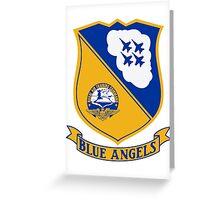 Blue Angels Insignia Greeting Card