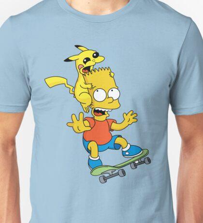 Skateboarding Is Not A Crime, Don't Bite Me ! Unisex T-Shirt