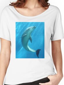 DOLPHIN Women's Relaxed Fit T-Shirt
