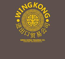 WING KONG - BIG TROUBLE IN LITTLE CHINA JACK BURTON (YELLOW) Unisex T-Shirt