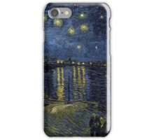Vincent van Gogh Starry Night over the Rhone iPhone Case/Skin