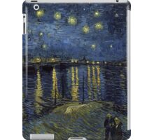 Vincent van Gogh Starry Night over the Rhone iPad Case/Skin