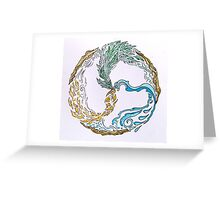 Triskele of Healing Greeting Card