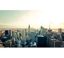 New York Skyline - Photograph Photographic Print