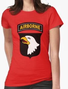 101st Airborne Division Womens Fitted T-Shirt