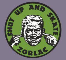 ZORLAC 80´S SKATEBOARDS (GREEN) Kids Tee