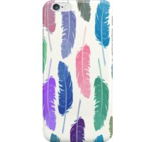 Colorful Feathers iPhone Case/Skin