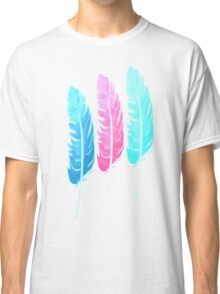 Colorful Feathers Classic T-Shirt