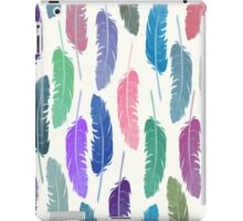 Colorful Feathers iPad Case/Skin