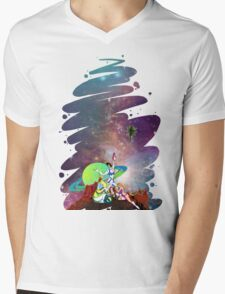 Dandy Vacation. In Space Mens V-Neck T-Shirt