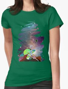 Dandy Vacation. In Space Womens Fitted T-Shirt