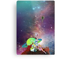Dandy Vacation. In Space Metal Print