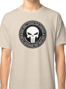 THE PUNISHER - GOD WILL JUDGE OUR ENEMIES Classic T-Shirt