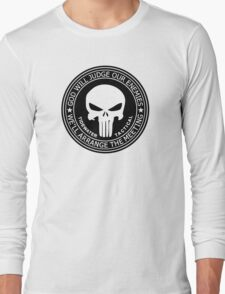 THE PUNISHER - GOD WILL JUDGE OUR ENEMIES Long Sleeve T-Shirt