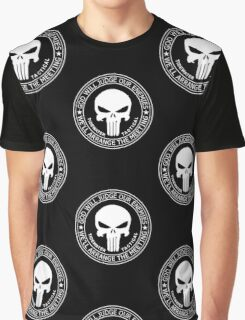 THE PUNISHER - GOD WILL JUDGE OUR ENEMIES Graphic T-Shirt