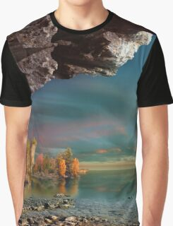 Placid Waters Graphic T-Shirt