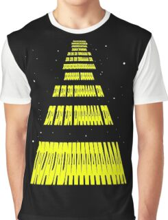 Phonetic Star Wars Graphic T-Shirt