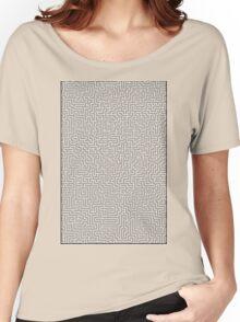 Hyper Maze TROPICAL SUNSET Women's Relaxed Fit T-Shirt