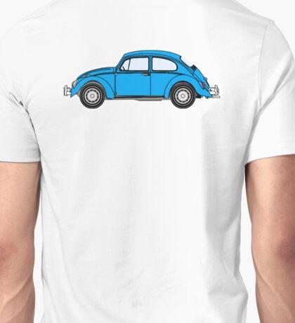VW, Beetle, Bug, Volkswagen, Motor, Car, BLUE Unisex T-Shirt