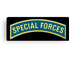 ARMY, AMERICAN, Special Forces, Arm Badge, Black Ops, USA, US, Canvas Print