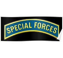 AMERICAN, Special Forces, Arm Badge, Black Ops, USA, US, ARMY,  Poster