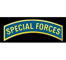 AMERICAN, Special Forces, Arm Badge, Black Ops, USA, US, ARMY,  Photographic Print