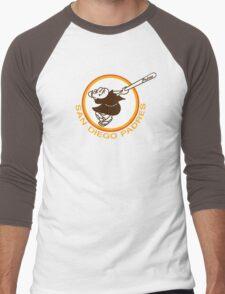 SAN DIEGO PADRES BASEBALL RETRO Men's Baseball ¾ T-Shirt