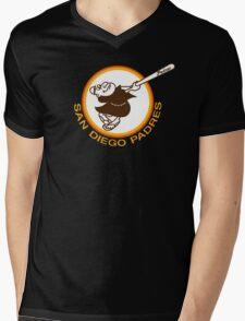 SAN DIEGO PADRES BASEBALL RETRO Mens V-Neck T-Shirt