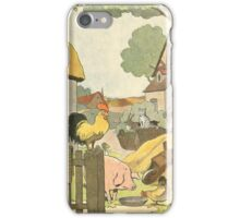F is for Ferme - French Alphabet Animals iPhone Case/Skin