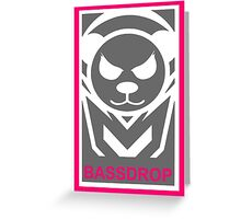 Bassdrop Nova Greeting Card