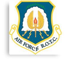US Air Force R.O.T.C. Canvas Print