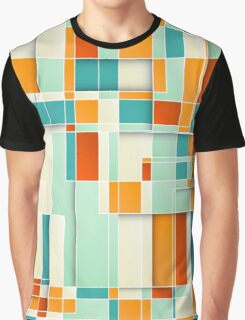 Colorful Geometric Background Graphic T-Shirt