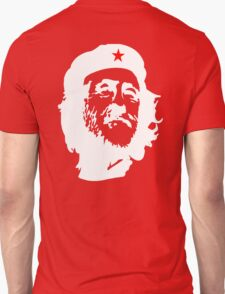 CORBYN, Comrade Corbyn, Leader, Labour Party, White on RED T-Shirt