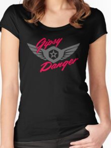 Gipsy Danger Logo Women's Fitted Scoop T-Shirt
