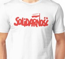 SOLIDARNOSC / SOLIDARITY FROM POLAND Unisex T-Shirt