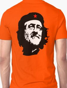 CORBYN, Comrade Corbyn, Leader, Labour Party, Black on White Unisex T-Shirt