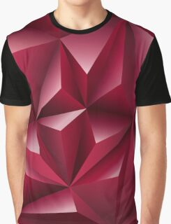 Pattern Red Gift Graphic T-Shirt