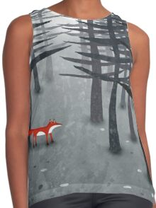 The Fox and the Forest Contrast Tank